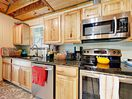 Kitchen - Feel right at home in the kitchen with stainless steel appliances that include a dishwasher.
