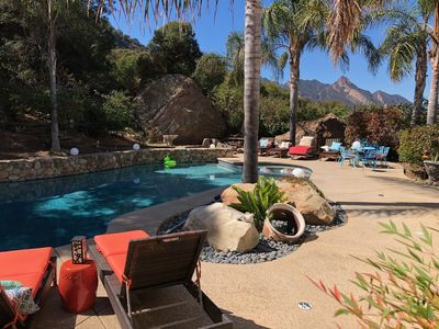 Photo for The Malibu Retreat: Music Promoter Guest House w/Pool & Happiness Bus
