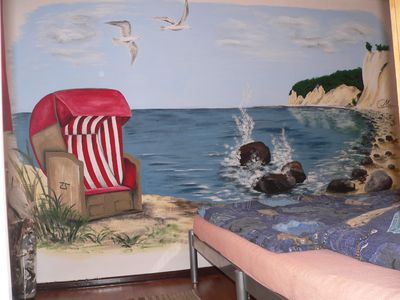 Photo for Great basement apartment in the middle of the island of Rügen in village edge near Bergen