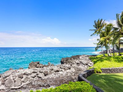 Photo for Aloha Condos, Keauhou Kona Surf and Racquet Club, Condo 5-201, Oceanfront