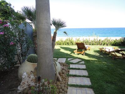 Photo for Cliffside villa facing the sea