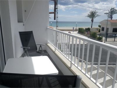 Photo for Sea view terrace in the village of L'Hospitalet del Infant. On foot from everything