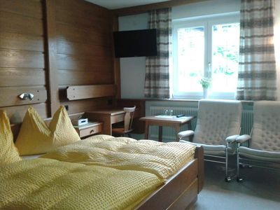 Photo for Double room with shower / WC - Café Wagrain, bed and breakfast