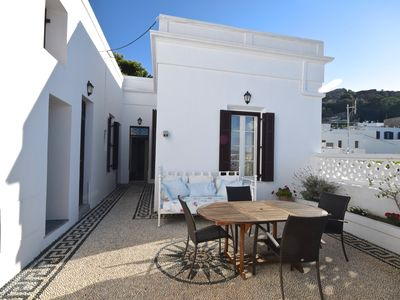 Photo for Sympathetically renovated village house in the heart of Lindos village