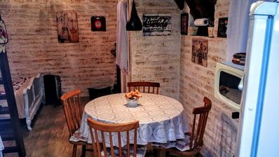 """Photo for """"HILL CHALET II"""" P / UP TO 4 PEOPLE IN A WELCOMING AND ROMANTIC ENVIRONMENT"""