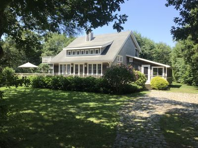 Photo for 'Sea Glass Cottage', near Edgartown and South Beach, walk to Great Pond