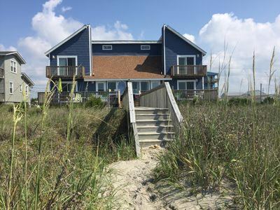 Photo for Dune Castle West- Oceanfront Beach Duplex