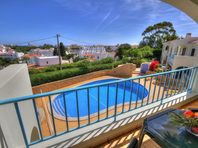Photo for Apartment Pool And Sea Views licence 45/2011/2211 AL 9051