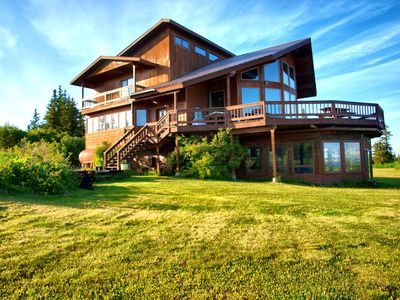 Photo for Sunrise Glacier Lodge - Gorgeous, luxurious private home with stunning views