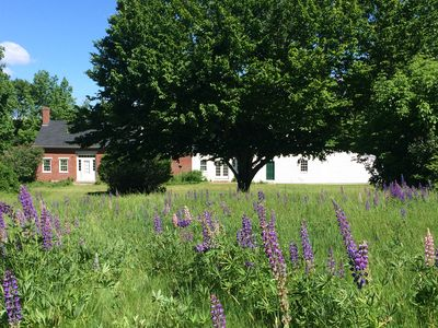 Photo for Classic Maine Farmhouse, western Maine views over rolling fields, Lakes Region