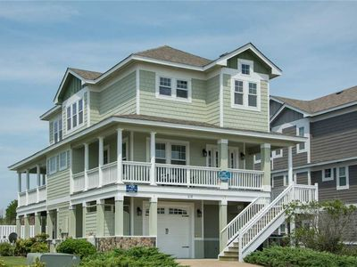 Photo for Tee To Shining Sea: Ocean, sound and golf views from this Corolla retreat!