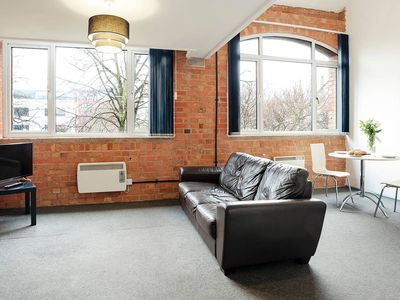 Photo for Wonderful Mezzanine Apartment in Leicester Centre!