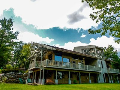 Photo for NEW LISTING! Unique mountain getaway with garage, fireplace & hot tub