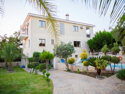 Photo for Villa Marina for rent in Kathikas,Paphos ..Family friendly near Coral Bay.