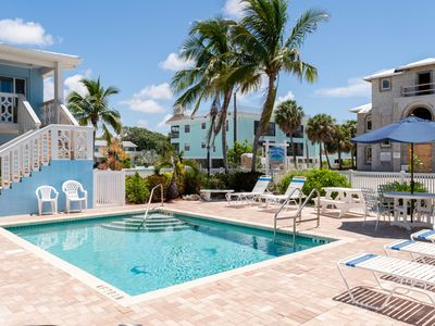 Photo for Anna Maria Beach Place 4 Directly Across The Street From The Beach With Pool
