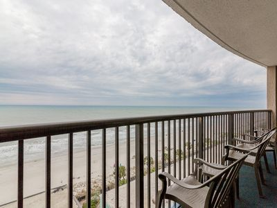 Photo for Direct Oceanfront 3BR on the 9th floor@Compass Cove with 20 water activities