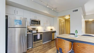 Photo for Upscale 1BD apartment with a full kitchen
