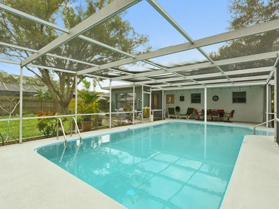 Photo for Paradise Pool house near world famous Clearwater Beach!