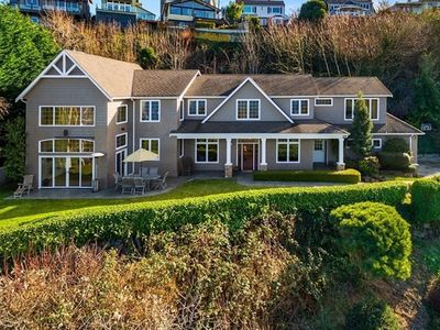 Photo for Luxury, Cliffside Home with Incredible Water and Mountain View