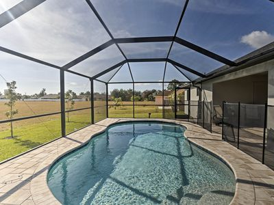 Photo for NEW! Cape Coral House w/Pool - 14 Mins to Beach!