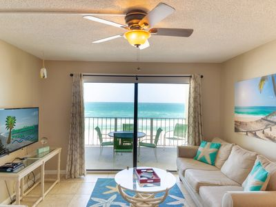 Photo for Beachfront Fabulous Views! Beautifully updated. Sun N Surf Regency Towers 515.