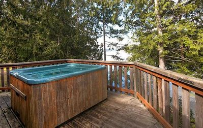 Photo for Stunning Desolation Sound Chalet with Private Hot Tub, Deck + BBQ!