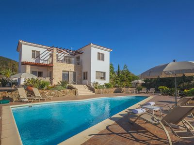 Photo for Spacious Seafront 4 bedroom Villa in Pomos