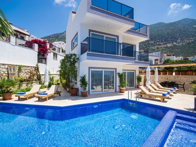Photo for A Perfect Setting for a Family Holiday, near centre of Kalkan