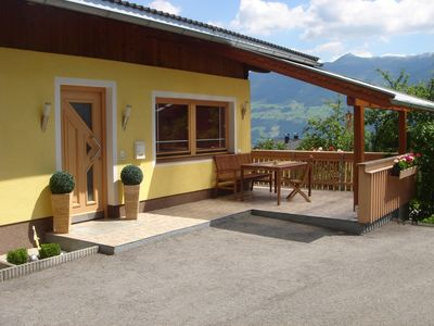 Photo for Fantastic holiday home with a terrace and a wonderful panorama over the Zillertal.