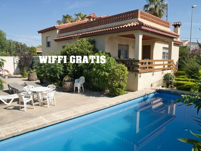 Photo for Villa Berta, Vinaròs PROMOTION: from 22-04 to 30-05 1 night extrra free