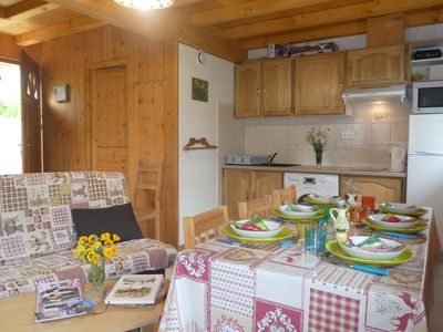 Photo for CHALET up to 7 people in Mont-Blanc Country - PROMO Vacances Printemps