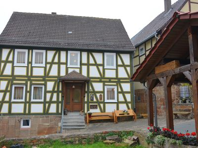 Photo for Holiday holiday home with charm in central location of Landau with garden and balcony