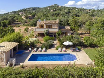 Photo for Cas Concos Villa, Sleeps 10 with Pool, Air Con and WiFi