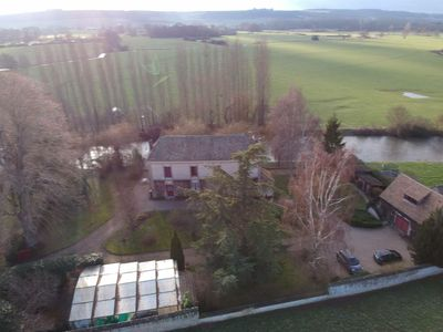 Photo for A haven of peace on the banks of a Norman river, 1 hour from Paris