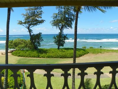 Photo for Direct Oceanfront Ocean Views Kauai condo vacation rental by owner - OCEAN !!