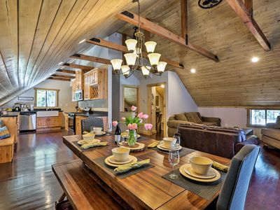 Photo for NEW! Modern Truckee Cabin - Walk to Donner Lake!