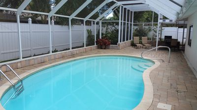 Photo for Home away from Home? Paradise in the Sun? Why not call it both! HEATED Pool !