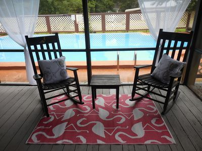 Photo for St. Augustine 4 bed/2 bath sleeps 8, pool. Great for families and nature lovers.