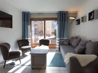 Photo for Maisonette triplex 3 bedrooms terrace, 8 pers. foot of track + Lake Pontillas
