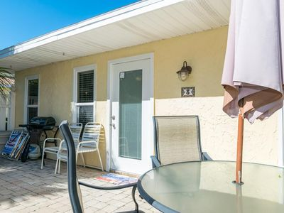 Photo for Recently Updated 2BR/1BA w/ Private Patio, Large Heated Pool, and Near the Gulf!