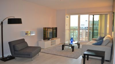 Photo for BRAND NEW - Beautiful Liberty Village 1BR + View (Sleeps 4ppl)