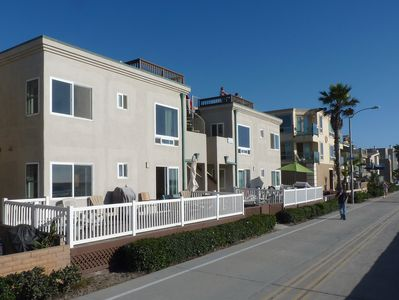 Your home on the world famous Mission Beach boardwalk!