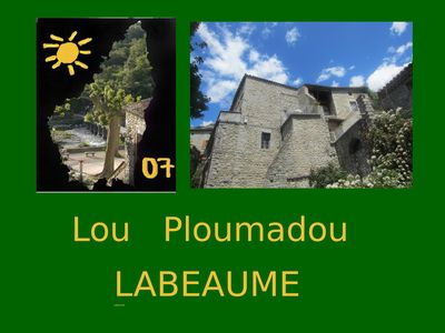 Photo for LOU PLOUMADOU: AUTHENTIC HOUSE ALONG THE RIVER AND THE VILLAGE