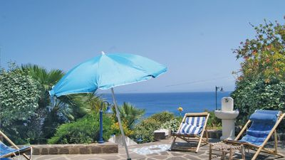 Photo for EXCEPTIONAL VILLA SEA VIEW 30 m from the beach, fine finishes