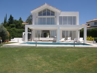 Photo for Marbella Modern Luxury Villa w/ Sea View Only Minutes to Golf Course & Beaches