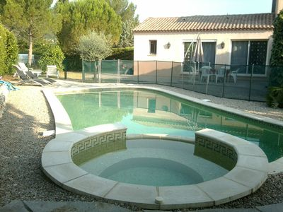 Photo for Villa with pool between sea and river