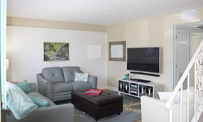 Photo for Beautiful newly renovated Fernandina Beach town home two blocks from the ocean