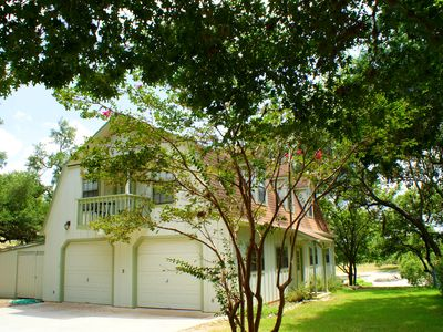 Photo for Two Dam Guest Cottages are in beautiful Blanco Texas and a short walk to the Historic Town Square.