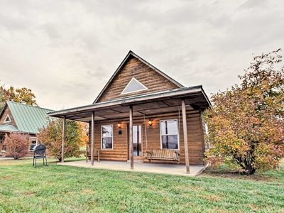 Photo for Lakefront Columbia Cabin w/ Dock & Peaceful Views!