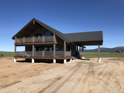 Photo for ⭐Lakeview, Newly Built, , Hot Tub, Fire Pit, Balcony, Near Yellowstone